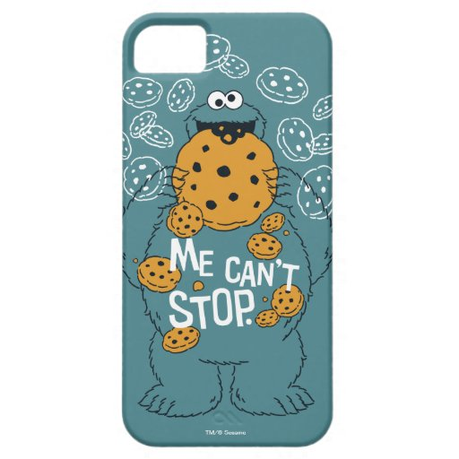 Sesame Street | Cookie Monster - Me Can't Stop iPhone SE/5/5s Case