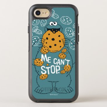 Sesame Street | Cookie Monster - Me Can't Stop OtterBox Symmetry iPhone 8/7 Case