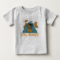 Sesame Street | Cookie Monster - Still Hungry Baby T-Shirt