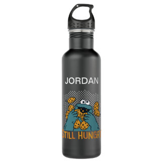 Sesame Street | Cookie Monster - Still Hungry Stainless Steel Water Bottle