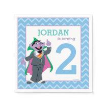 Sesame Street | Count von Count Birthday Paper Napkin