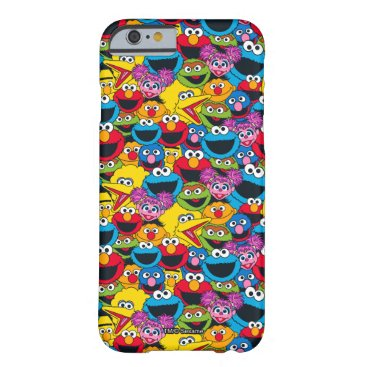 Sesame Street Crew Pattern Barely There iPhone 6 Case