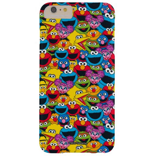 Sesame Street Crew Pattern Barely There iPhone 6 Plus Case