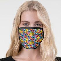 Sesame Street Crew Pattern Face Mask