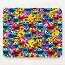 Sesame Street Crew Pattern Mouse Pad