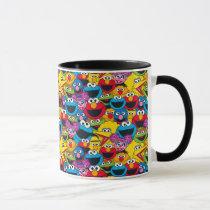 Sesame Street Crew Pattern Mug