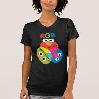 Sesame Street del RGB Playera