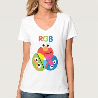 Sesame Street del RGB Remera