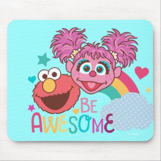 Sesame Street   Elmo & Abby - Be Awesome Mouse Pad
