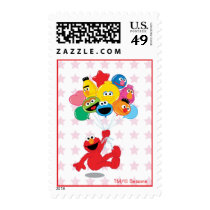 Sesame Street | Elmo and Pals - Birthday Balloons Postage
