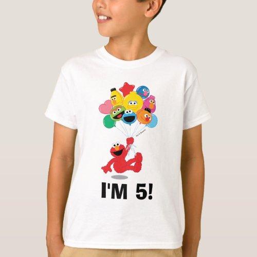 Sesame Street  Elmo and Pals _ Birthday Balloons T_Shirt
