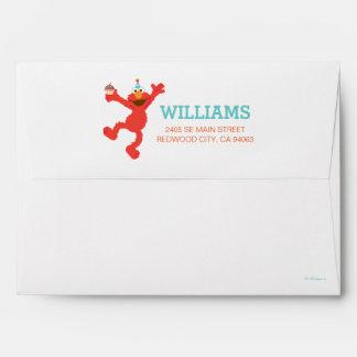 Sesame Street | Elmo - Cupcake & Confetti Birthday Envelope