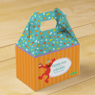 Sesame Street | Elmo - Cupcake & Confetti Birthday Favor Box