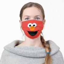 Sesame Street Elmo Face Adult Cloth Face Mask
