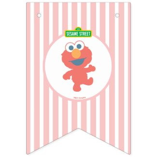 Sesame Street | Elmo - First Birthday Bunting Bunting Flags