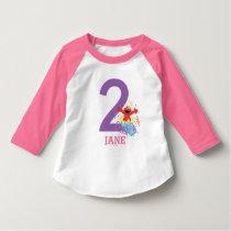 Sesame Street | Elmo Girl's 2nd Birthday T-Shirt