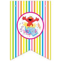 Sesame Street | Elmo Girl's Birthday Bunting Flags