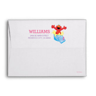 Sesame Street | Elmo Girls Birthday Envelope