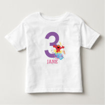 Sesame Street | Elmo Girl's Birthday Toddler T-shirt