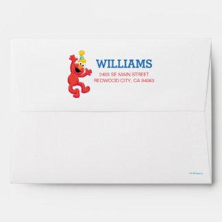 Sesame Street | Elmo Neutral Rainbow Striped Envelope