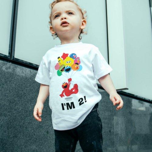 Sesame Street  Elmo  Pals _ 2nd Birthday Toddler T_shirt