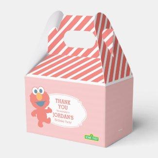 Sesame Street | Elmo - Pink Striped Favor Box