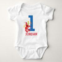 Sesame Street | Elmo - Rainbow 1st Birthday Baby Bodysuit
