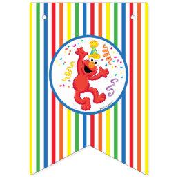Sesame Street | Elmo - Rainbow Birthday Bunting Flags