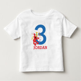 Sesame Street | Elmo - Rainbow Birthday Toddler T-shirt
