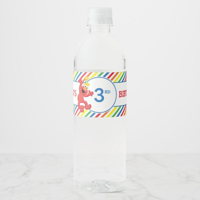 Sesame Street Elmo ~ Water Bottle Labels ~ Birthday Party Baby Shower Supplies