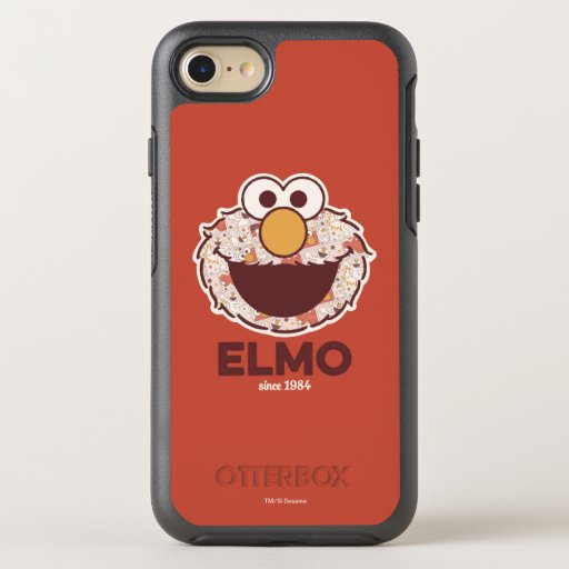 Sesame Street | Elmo Since 1984 OtterBox Symmetry iPhone SE/8/7 Case