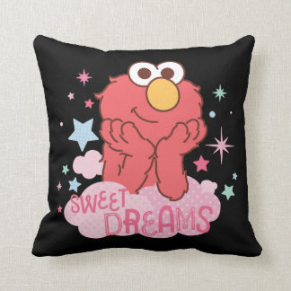 Sesame Street | Elmo - Sweet Dreams Throw Pillow