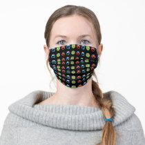 Sesame Street Emoji Pals Adult Cloth Face Mask