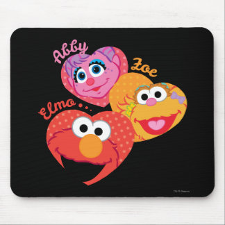 Sesame Street Friends Mouse Pad