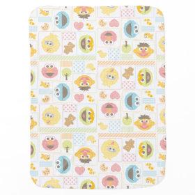 Sesame Street Furry Friends Pattern Baby Blanket