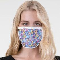 Sesame Street | Groovy Dance Pattern Face Mask