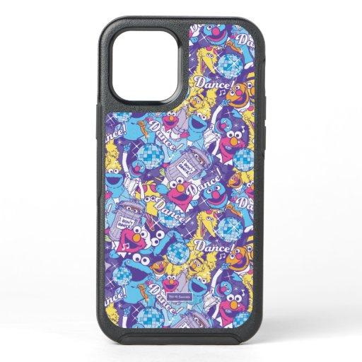Sesame Street | Groovy Dance Pattern OtterBox Symmetry iPhone 12 Case