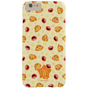 Sesame Street | Julia & Elmo Yellow Star Pattern Barely There iPhone 6 Plus Case