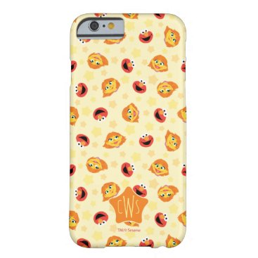 Sesame Street | Julia & Elmo Yellow Star Pattern Barely There iPhone 6 Case