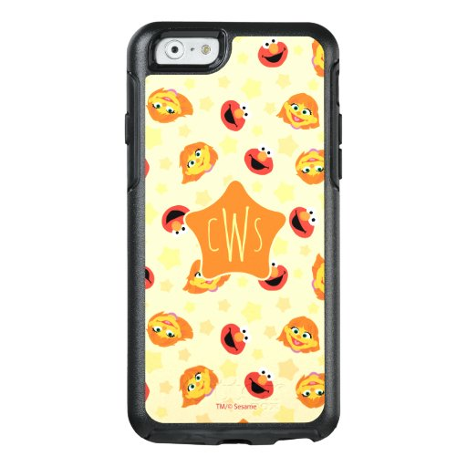Sesame Street | Julia & Elmo Yellow Star Pattern OtterBox iPhone 6/6s Case
