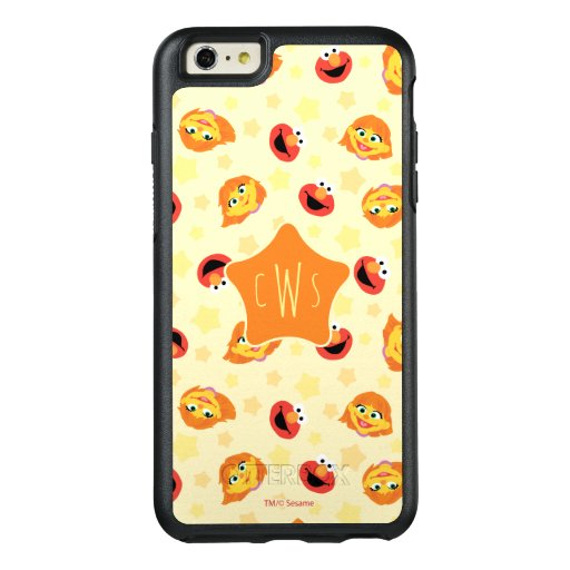 Sesame Street | Julia & Elmo Yellow Star Pattern OtterBox iPhone 6/6s Plus Case