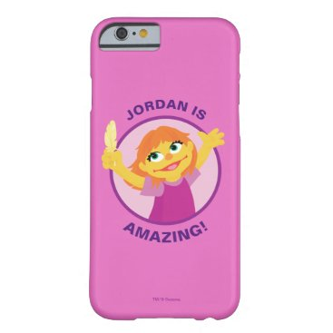 Sesame Street | Julia Holding Feather Barely There iPhone 6 Case