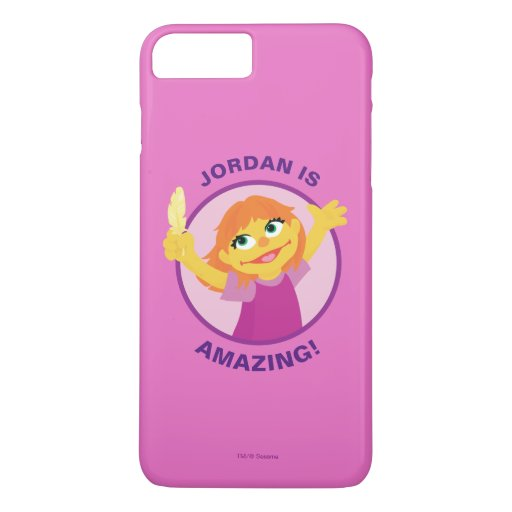 Sesame Street | Julia Holding Feather iPhone 8 Plus/7 Plus Case