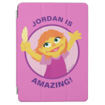 Sesame Street | Julia Holding Feather iPad Air Cover
