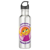 Sesame Street | Julia Holding Feather Stainless Steel Water Bottle
