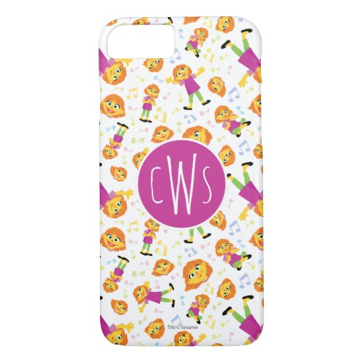Sesame Street | Julia Music Pattern iPhone 8/7 Case