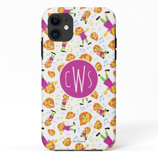 Sesame Street | Julia Music Pattern iPhone 11 Case