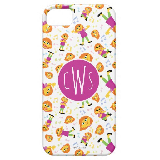 Sesame Street | Julia Music Pattern iPhone SE/5/5s Case