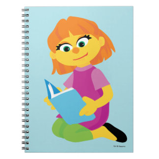Sesame Street | Julia Reading a Book