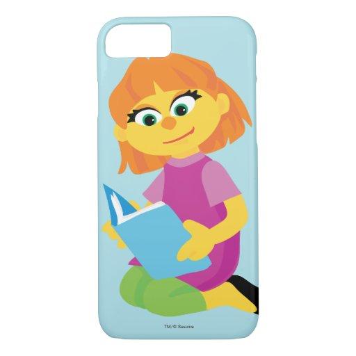 Sesame Street | Julia Reading a Book iPhone 8/7 Case